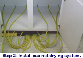 Cabinet Drying